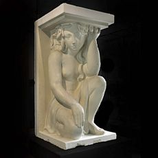 Art deco statue by Alfred Janniot