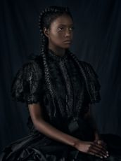 For Sarah- The African Princess - Gaze by Dagmar van Weeghel