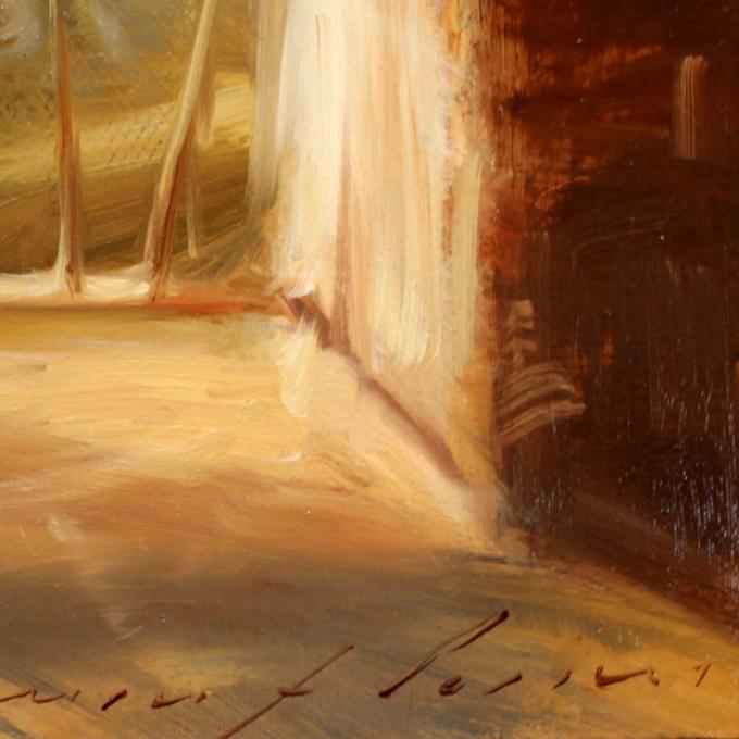 Winter Morning Wash by Simon Pasini