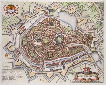 Middelburg plategrond  by  De Wit