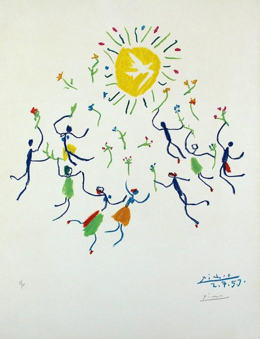La ronde de la jeunesse by Pablo Picasso