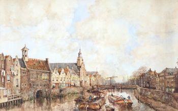 Rotterdam, Delfshaven  by  Herman Paradies