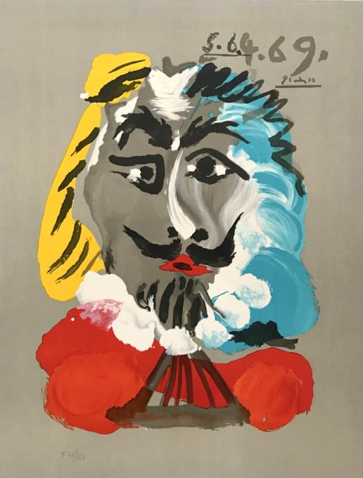 Portrait Imaginaires 5.6.4.69 by Pablo Picasso