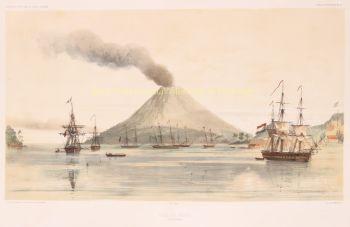 Banda Islands (Moluccas)  after Louis Le Breton by  Léon Jean Babtiste Sabatier
