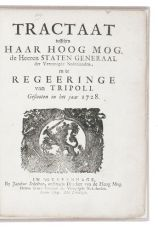 1728 treaty between the Dutch Republic and the semi-autonomous state of Tripoli