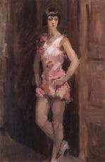 Dancing Girl  by Isaac Israels