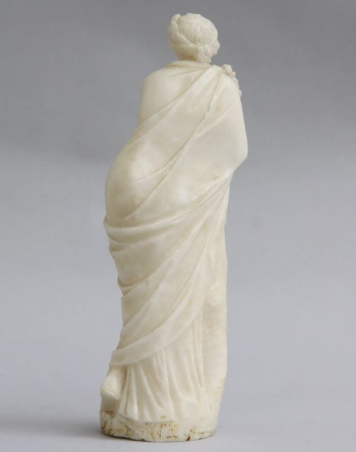 Alabaster statue of Clio by Unknown Artist