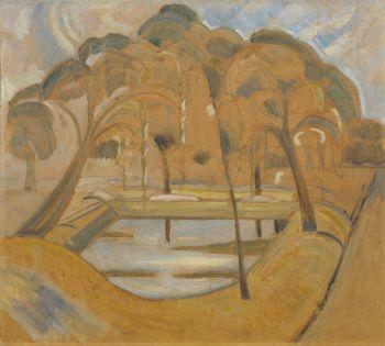 Parcview, Domburg by Jacoba van Heemskerck van Beest