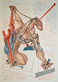 Divina commedia inferno 29 by Salvador Dali