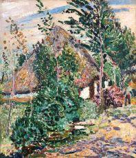 Summer Landscape with Farm, Heeze by Jan Sluijters