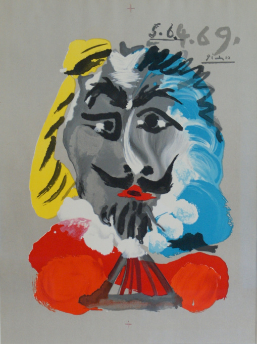 Portraits Imaginaires, 5.6.4.69 by Pablo Picasso