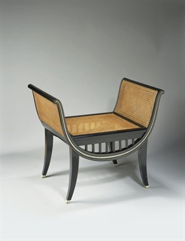 Art Deco tabouret by Paul Iribe