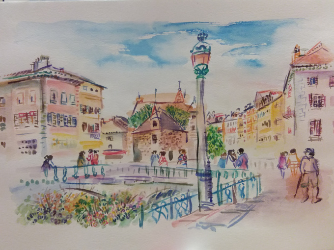 Old Town Annecy by Iam Anna