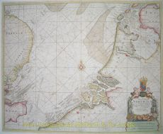 North Sea antique chart  by  Mount and Page