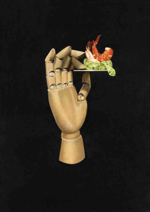 Shrimp snack by Joyce Balk