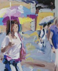 Schildergasse (summer rain) by Alireza Varzandeh