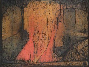 Contemplation by Albert Auguste Plasschaert