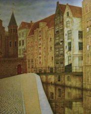 Het Kolkje, Amsterdam by Sal Meijer
