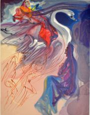 Divina commedia paradiso 19 by Salvador Dali
