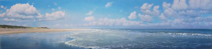 Strandgezicht by Jan Hendrik Dolsma