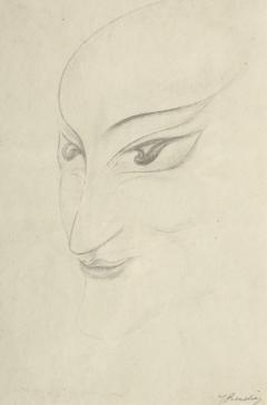 Vrouwenmasker (mevrouw Harrenstein) by Jacob Bendien