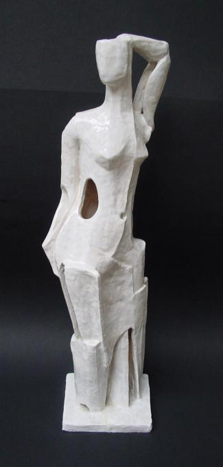 Standing Nude by Nel Klaassen