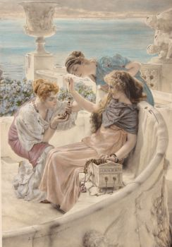 Fortune's Favourite  by Lawrence Alma-Tadema