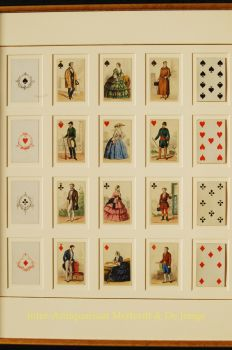 antique playing cards  by  Gibert