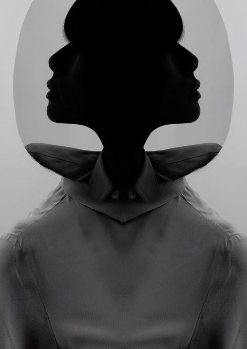 Her Profile by Dik Nicolai