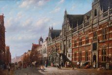 View on the Breestraat in Leiden