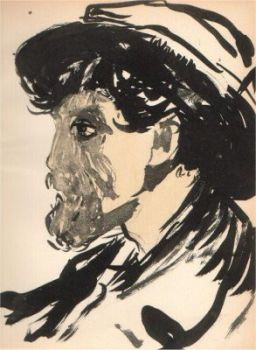 Portrait of a man by Kees van Dongen