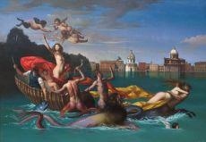 Il trionfo de Galatea by Giovanni Tommasi Ferroni