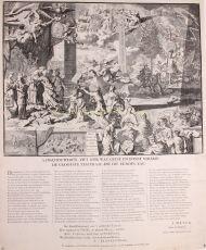 Treaty of Aachen  by  Pieter van den Berghe  Petrus Schenk