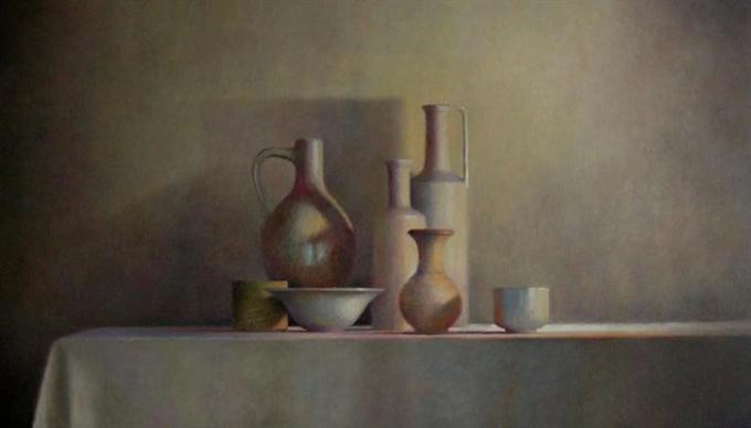 Aardewerk en porselein by Anneke Elhorst