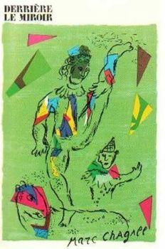 L'Acrobat Vert by Marc Chagall