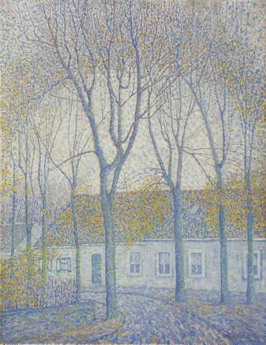 Autumn in Domburg by Mies Elout-Drabbe