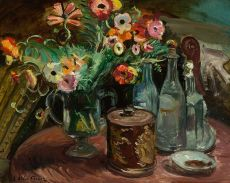 Flowers by Achille Emile Othon Friesz
