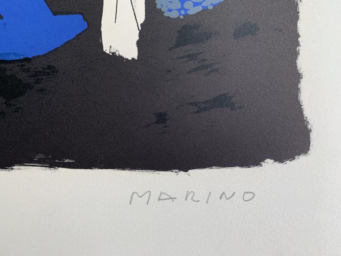 Chevaux et cavaliers I by Marino Marini