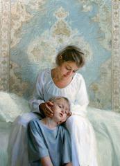 Mother and Childe by Svetlana Tartakovska