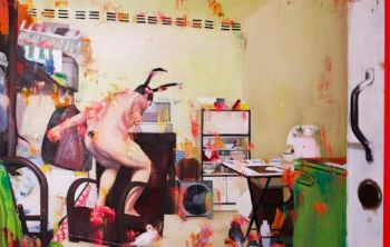 Coloured Theatre-An indoor carnival by Zhang Zhaoying