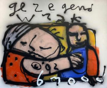 Gezegend wrak (Blessed wreck) by Herman Brood