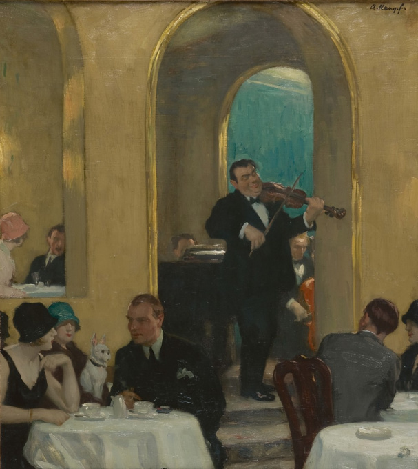 Tearoom by Arthur Kampf