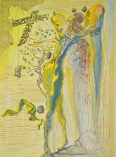 Divina commedia paradiso 12 by Salvador Dali