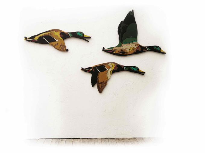 Fuck the ducks by Mart de Brouwer