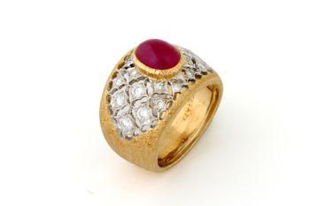 Ring Ruby Buccellati by Buccellati
