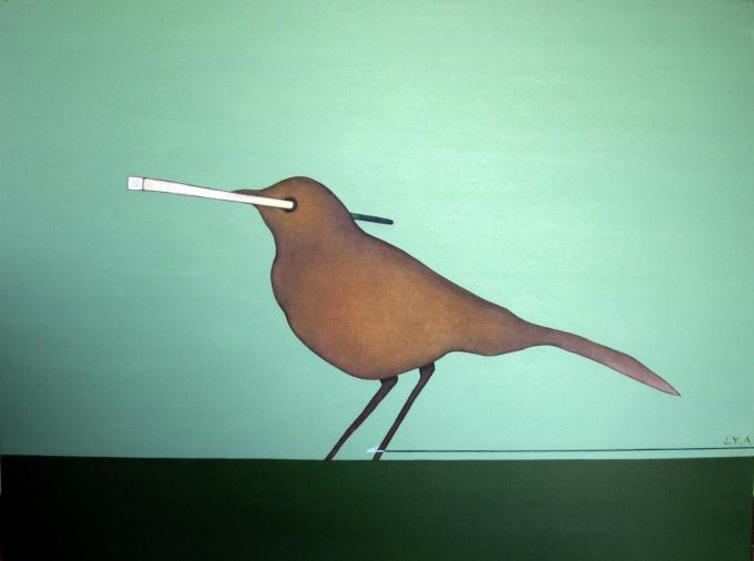 'A bird' by Liu Yan