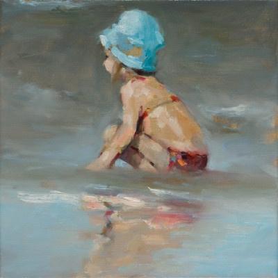 Blauw Hoedje  by Dinie Boogaart
