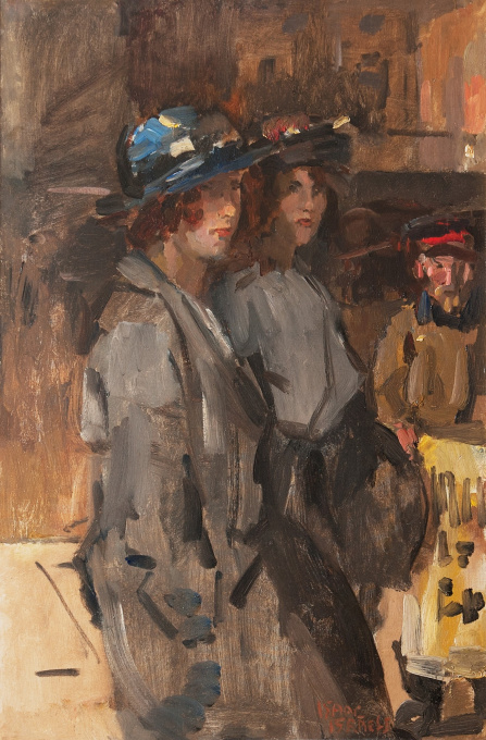 Two Cockney Girls by Isaac Israels