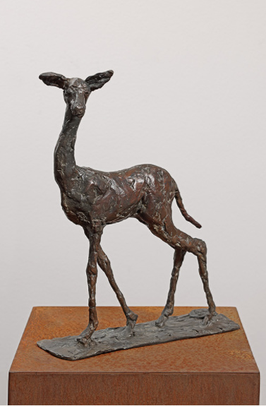 Hert (Deer) by Karel Gomes
