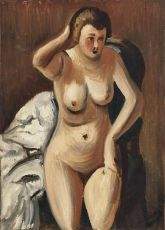 Sitting Nude by André Derain